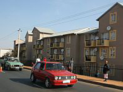 This project in Kliptown, Soweto, is one of 2.3-million funded by the government