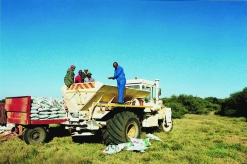 The Taung farming development project has won international recognition.