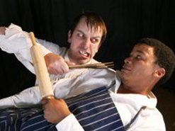 Rob Murray and Lysander Barends star in Gumbo.