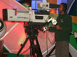 South Africa is changing its television signal to digital.