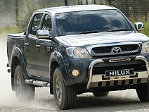 The Hi-lux was South Africa's best selling commercial vehicle (known in South Africa as a bakkie)