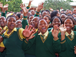 Most private schools in South Africa writethe IEB exams, while public schools writeexams administered by the state.