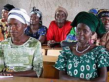 Women leaders in Mutimbuzi commune, Bujumbura-Rurale Province in Burundi.