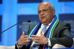 Finance minister Pravin Gordhan's 2011 budget speech shows the government's commitment to job creation. (Image: World Economic Forum)
