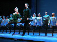 The Riverdance show has toured all over the world and now graces local stages for the first time ever.
