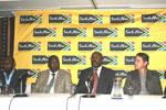 IMC trustee Vusi Mvelase, KwaZulu-Natal MEC for economic development and tourism Mike Mabuyakhulu, IMC CEO Miller Matola and Brendon Jewaskiewitz at the KwaZulu-Natal summit, held recently in Durban