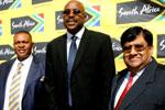 MEC Norman Mokoena, Miller Matola and Paresh Pandya.
