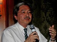 Hong Kong's financial secretary John Tsang.