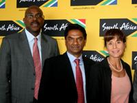 From left, Miller Matola, Esa Yacoob, Libby Ferrandi and Iggy Sathekge.