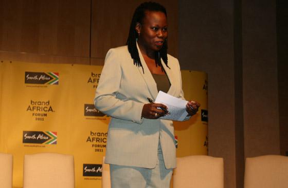 Programme facilitator Tumi Makgabo