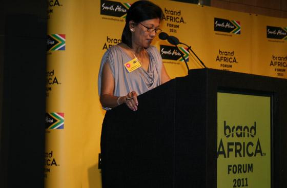 Brand SA chairperson Anitha Soni