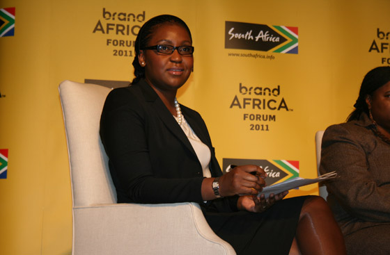 Dr Jackie Chimhanzi of Deloitte, who chaired the first panel on governance and sustainability