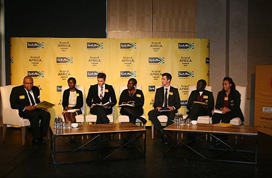 Youth panel discusses its vision for Africa