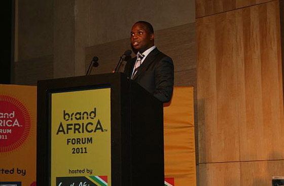 Founder and chairperson of Brand Africa Thebe Ikalafeng