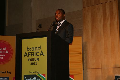 Founder and Chairman of Brand Africa Thebe Ikalafeng