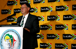 Closing ceremony master of ceremonies thanks Brand SA for its sponsorship