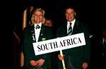 Team SA at the closing ceremony
