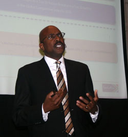 Brand South Africa's CEO Miller Matola
