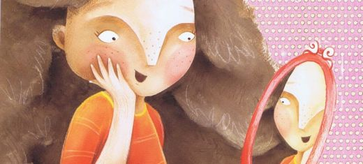 """Kiki, the heroine of the award-winning children's book, 'Oh, What a Tangle!' (Image: <a href=""""http://www.anitapouroulis.com"""" target=""""_blank"""">Anita Poupouroulis</a></em>"""