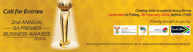 SA Premier Business Awards - call for entries