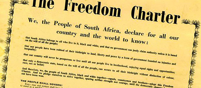 The spirit of the Freedom Charter integral to South Africa's DNA ...
