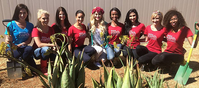 Miss Earth South Africa article