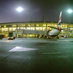 OR Tambo International Airport near Johannesburg