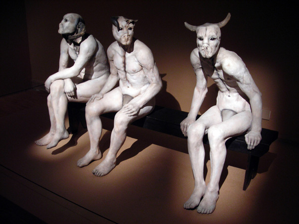 Butcher Boys sculpture by Jane Alexander