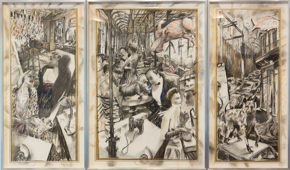 The Conservationists Ball (1985) by William Kentridge (1955-)