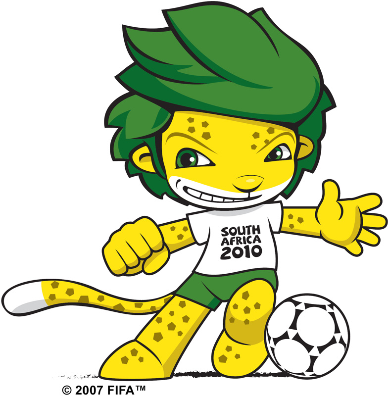2010 fifa world cup zakumi the official mascot brand
