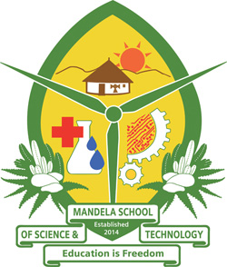 Crest of the Mandela School of Science and Technology
