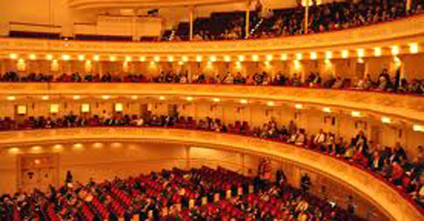 Carnegie Hall, one of the most iconic theatres in the world