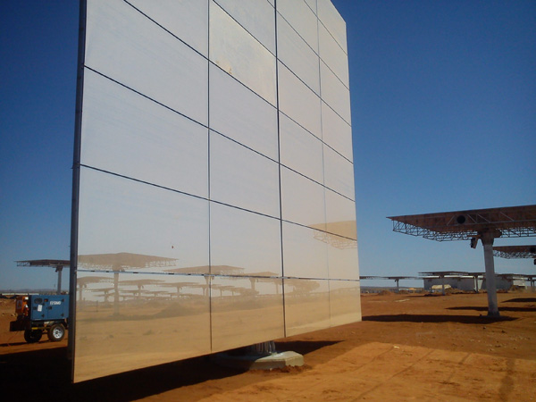 Solar power plant in the Northern Cape funded by the IDC