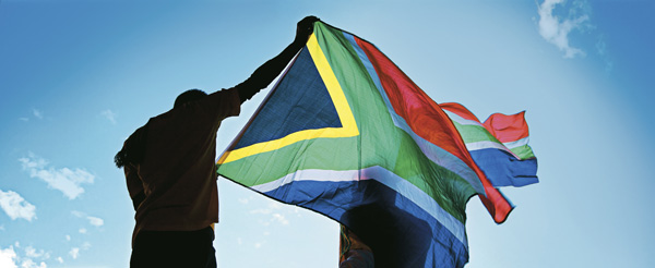 20 years of freedom South Africa