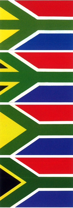 Evolution of the South African flag