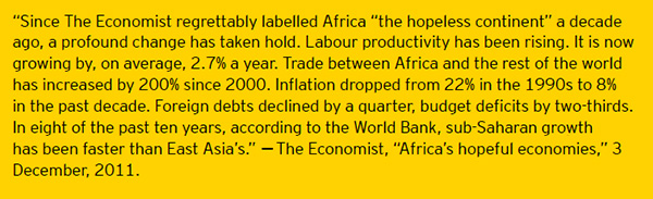 EY Africa Economist quote