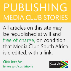 Publishing Media Club South Africa stories - click here
