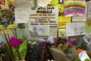 Tributes for Mandela