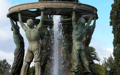 Diggers Fountain