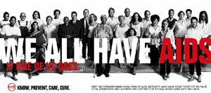 Go to the We All Have Aids campaign website