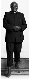 Desmond Tutu in the We All Have Aids campaign